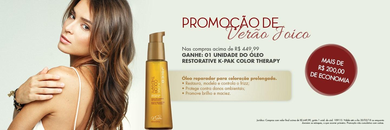 Promo Verão Joico - Óleo de Argan Joico Color Therapy Restorative Oil
