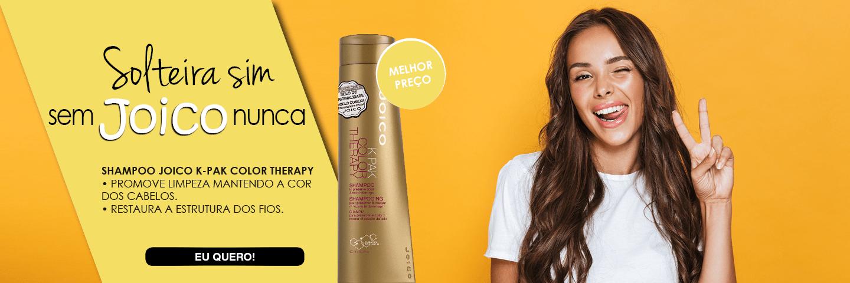 Solteira sim, sem Joico Nunca! -  Shampoo K-PAK Color Therapy