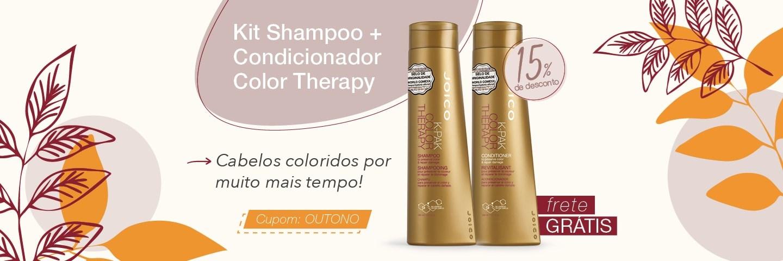 Outono Joico 2020 - Kit Duo para Cabelos Coloridos Joico K-Pak Color Therapy