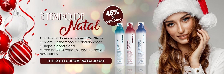 Tempo de Natal - Condicionadores de Limpeza Joico Co+Wash