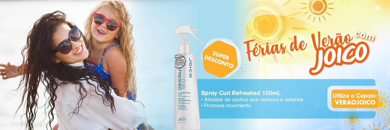 Férias de Verão com Joico - Spray Curl Refreshed 150 ml