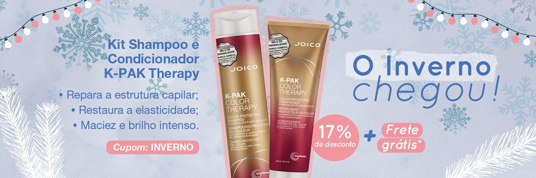 Inverno 2021 - Kit Duo K-PAK Color Therapy Shampoo e Condicionador