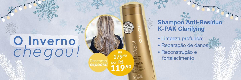 Inverno 2021 - K-PAK Clarifying Shampoo
