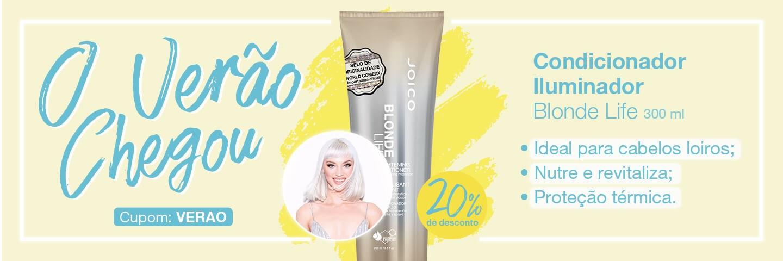 Verão Joico -  Condicionador Iluminador Joico Blonde Life para Cabelos Loiros 250ml