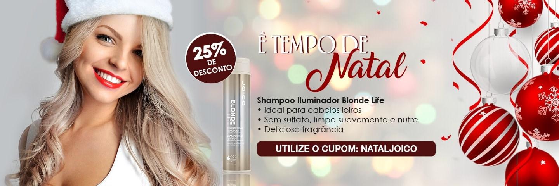 Tempo de Natal - Shampoo Iluminador Joico Blonde Life