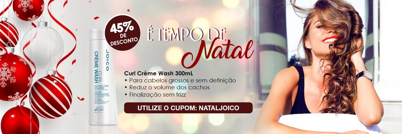 Tempo de Natal - Joico Curl Co+Wash 300 ml