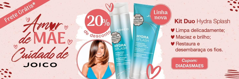 Dia das Mães Joico 2021 - Kit Duo Joico Hydra Splash Shampoo e Condicionador