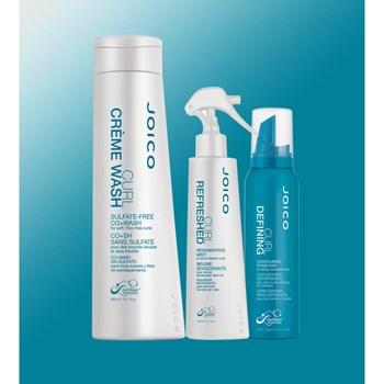 Kit Triplo Joico Curl para Cabelos Cacheados (Shampoo + Cera em Mousse + Spray)