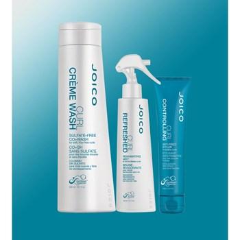 Kit Triplo Joico Curl para Cabelos Cacheados (Shampoo + Creme + Spray)