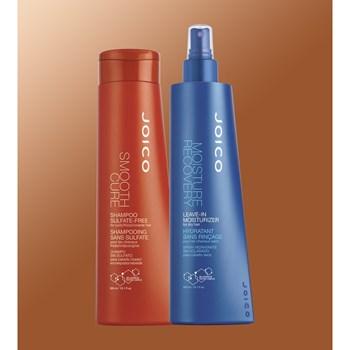 Kit Duo Joico de Hidratação para Cabelos Grossos (Shampoo + Leave-in)