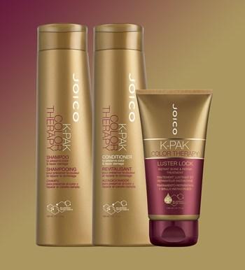 Kit Trio Joico K-Pak Color Therapy (Shampoo + Condicionador + Máscara)