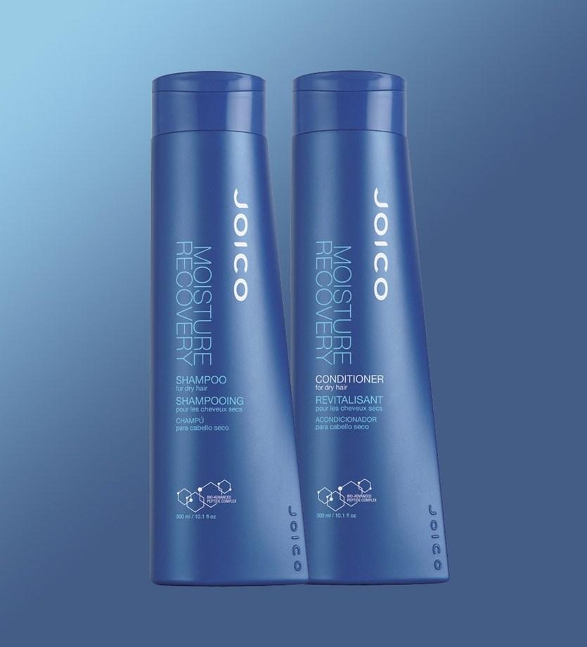 Kit Duo Joico Moisture Recovery para Cabelos Secos (Shampoo + Condicionador)