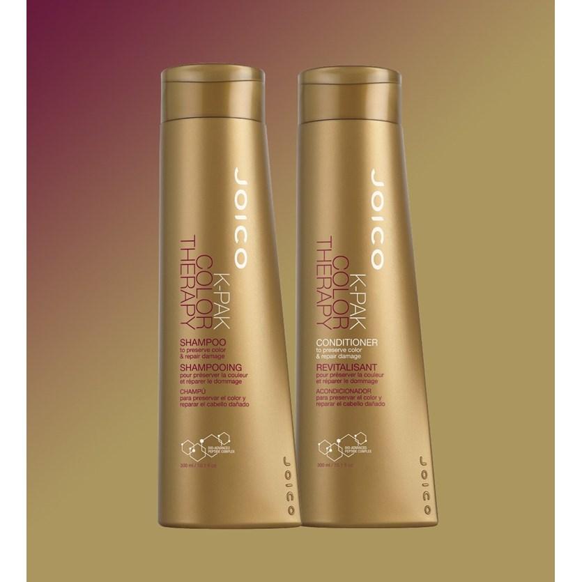 Kit Duo para Cabelos Coloridos Joico K-Pak Color Therapy (Shampoo + Condicionador)
