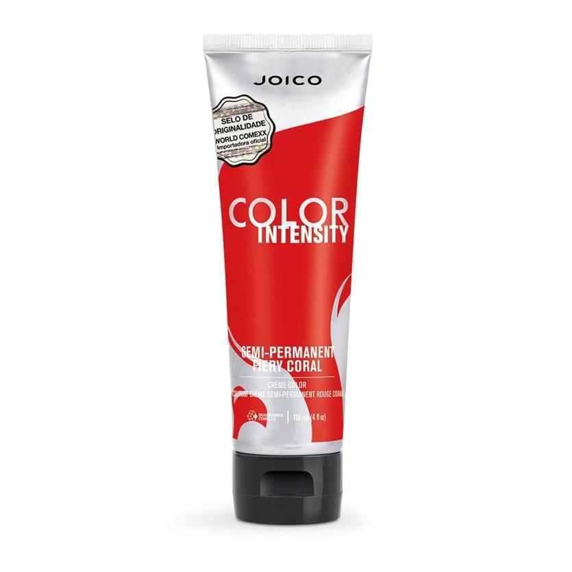 Coloração Vermelha Joico Vero K-PAK Color Intensity Fiery Coral 118 ml