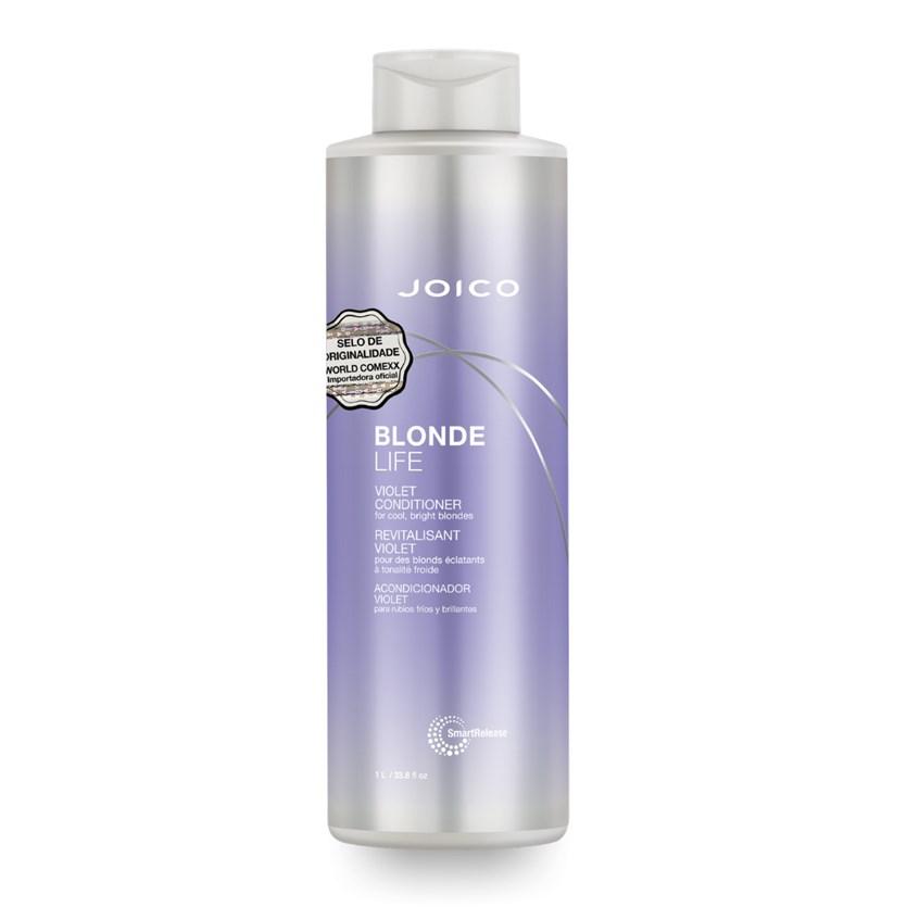 Condicionador Joico Blonde Life Violet Smart Release 1000 ml