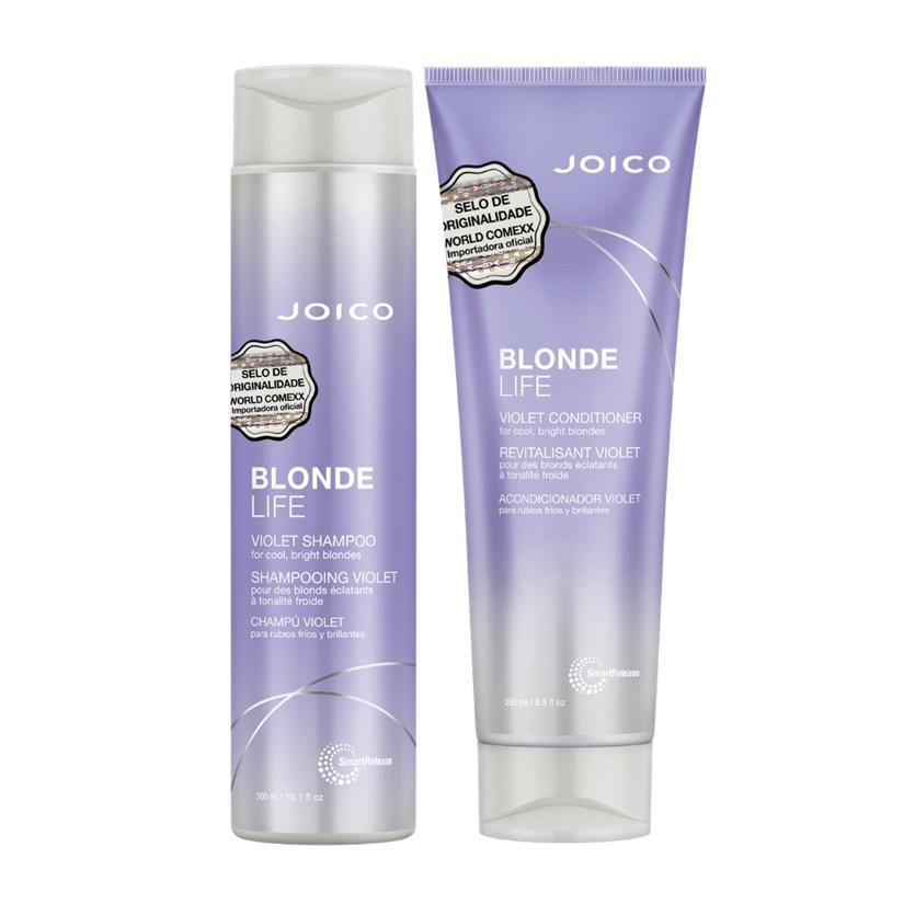 Kit Duo Blonde Life Violet Smart Release (Shampoo e Condicionador)