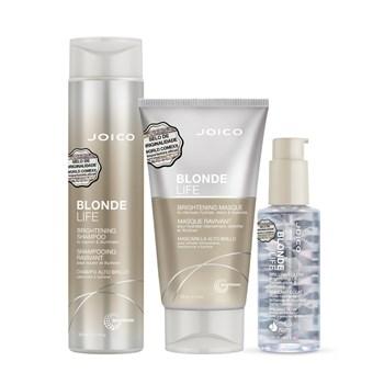 Kit Joico Blonde Life Neutralizador (Shampoo, Máscara e Óleo)