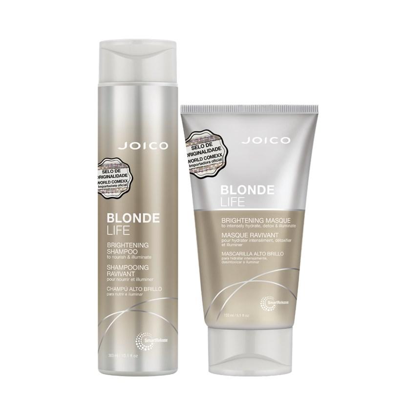 Kit Joico Blonde Life Shampoo e Máscara