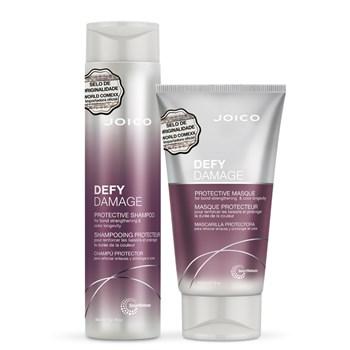 Kit Joico Defy Damage para Longevidade da Cor (Shampoo e Máscara)