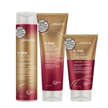 Kit Triplo Joico K-PAK Color Therapy Smart Release (Shampoo, Condicionador e Máscara)