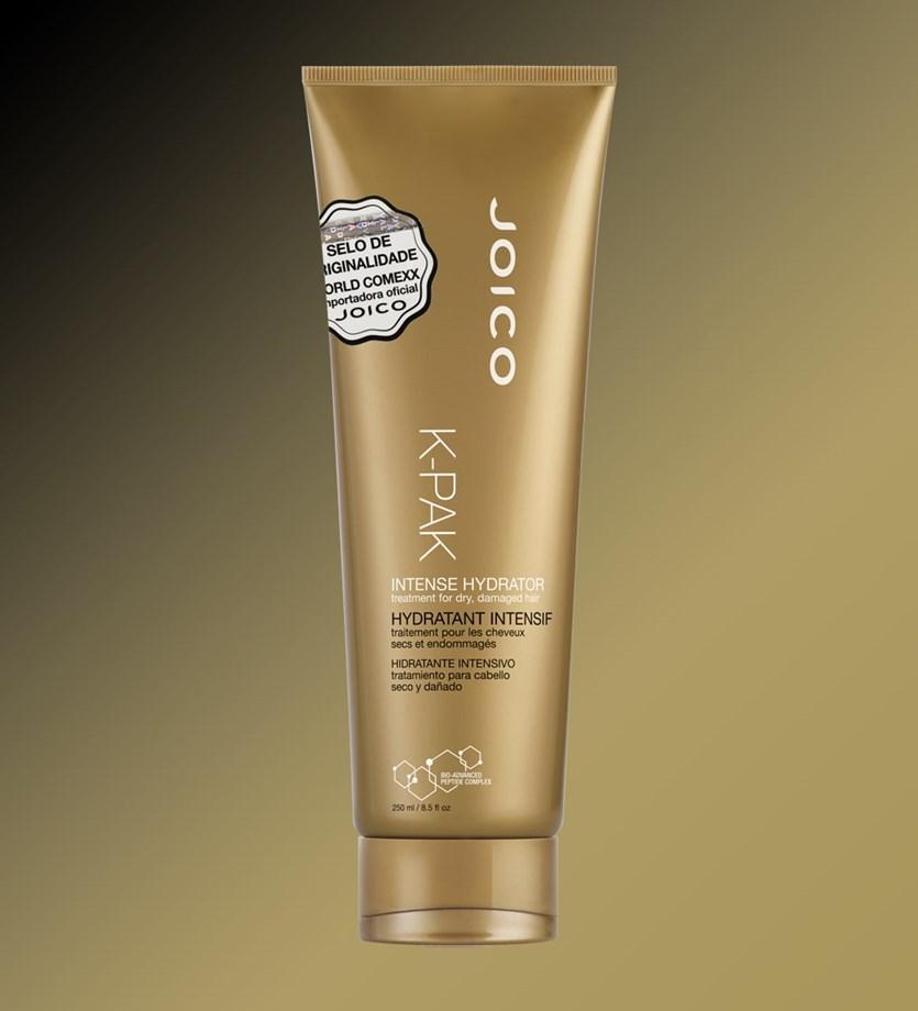Máscara de Hidratação Profunda Joico K-PAK Intense Hydrator 250 ml para Cabelos Secos e Danificados