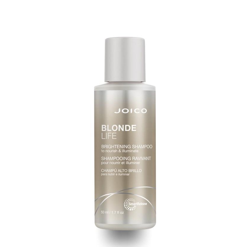 Shampoo Iluminador Joico Blonde Life Smart Release 50 ml para Cabelos Loiros