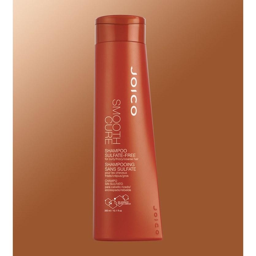 Shampoo Sem Sulfato Joico Smooth Cure 300 ml para Cabelos Grossos